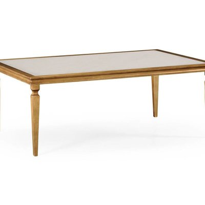 Jonathan Charles Italian Gilded Rectangular Coffee Table