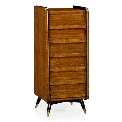 Jonathan Charles Mid-Century Tall Chest of Drawers