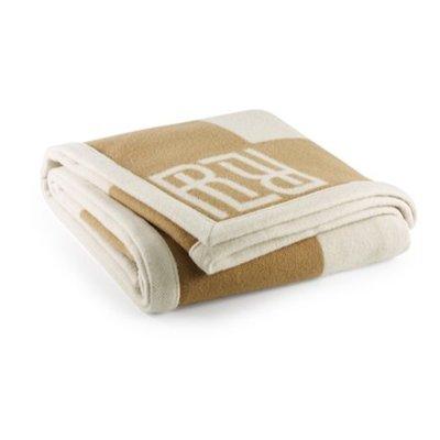 Rauph Lauren Montclair RL Signature Blanket Cream