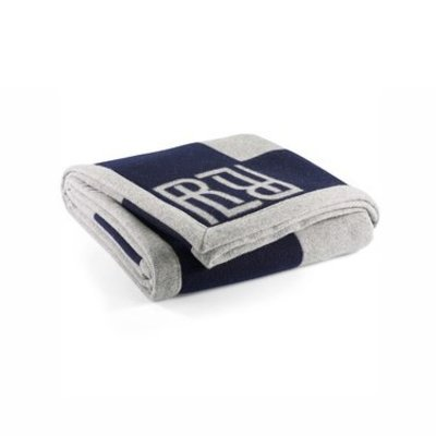 Rauph Lauren Montclair RL Signature Blanket Navy