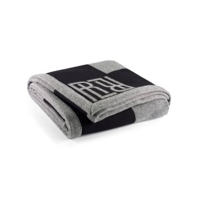 Rauph Lauren Montclair RL Signature Blanket Grey