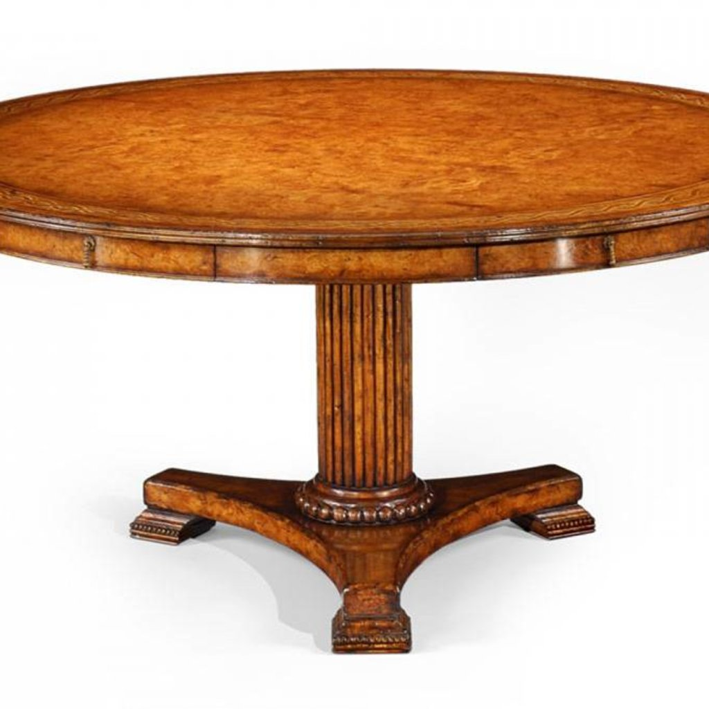Jonathan Charles Rope Twist Round Dining Table