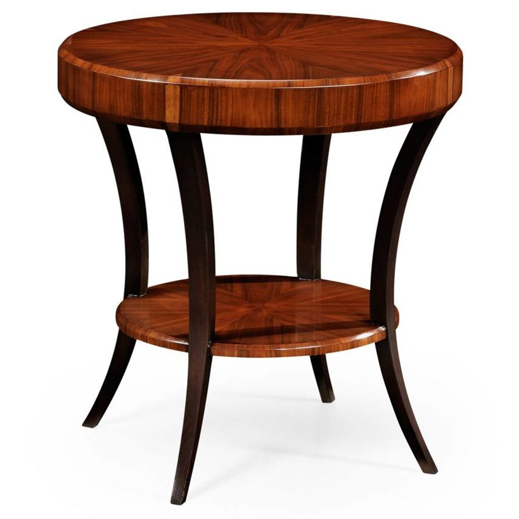 Jonathan Charles Art Deco Round Side Table