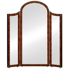 Jonathan Charles Art Deco Style Full Length Triple Dressing Mirror
