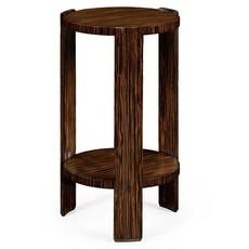 Jonathan Charles Art Deco Style Macassar Lamp Table
