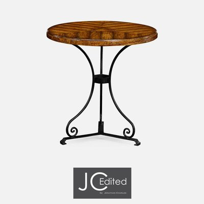 Jonathan Charles Country Walnut Style Parquet Table