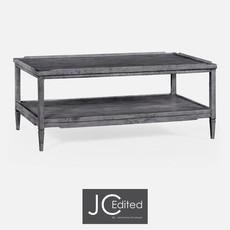 Jonathan Charles Antique Dark Grey Coffee Table