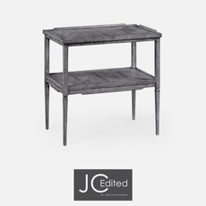 Jonathan Charles Antique Dark Grey Side Table