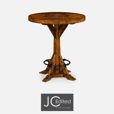 Jonathan Charles Country Walnut Bar Table
