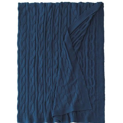 Eastern Accents Avalon Indigo Bed Throw 88*88