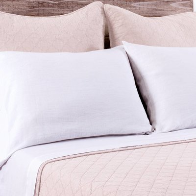 Bedding brands huntington large euro blush