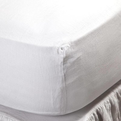 Bedding brands Fitted sheet-White Q