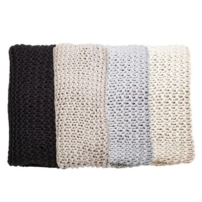 Bedding brands FINN-hand knit throw 60*90