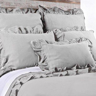 Bedding brands Charlie silver Q Duvet