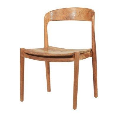 Ingrid Side Chair-Teak