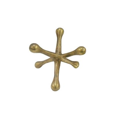 sagebrook METAL JACKS DECOR,GOLD 8