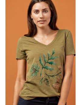UNITED BY BLUE UNITED BY BLUE FOREST FLORA TEE