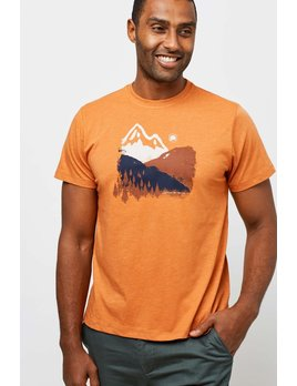 UNITED BY BLUE UNITED BY BLUE M'S MOUNTAIN INK GRAPHIC TEE