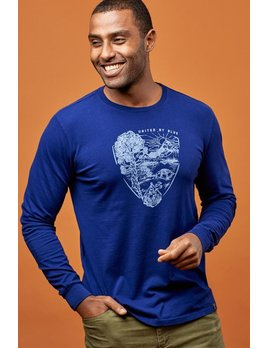 UNITED BY BLUE UNITED BY BLUE PARK PENNANT LONG SLEEVE