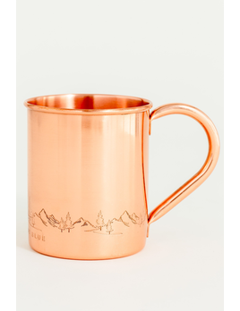 UNITED BY BLUE UNITED BY BLUE FIR SURE 14oz COPPER MUG