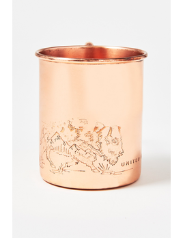 UNITED BY BLUE UNITED BY BLUE WHERE THE BUFFALO ROAM 14oz COPPER MUG