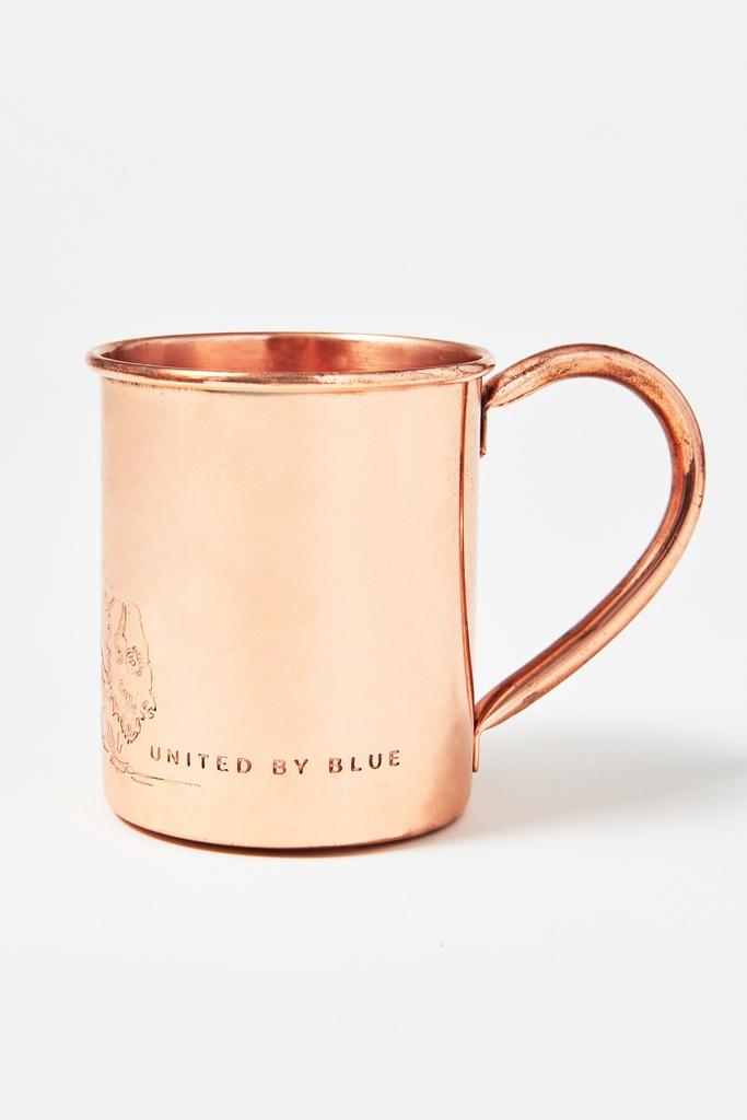 UNITED BY BLUE UNITED BY BLUE WHERE THE BUFFALO ROAM 14oz COPPER MUG