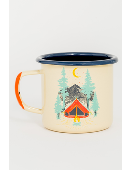 UNITED BY BLUE UNITED BY BLUE TENT DREAMS 12oz ENAMEL MUG