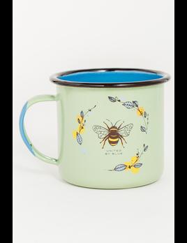 UNITED BY BLUE UNITED BY BLUE HONEY BEE 22oz ENAMEL MUG