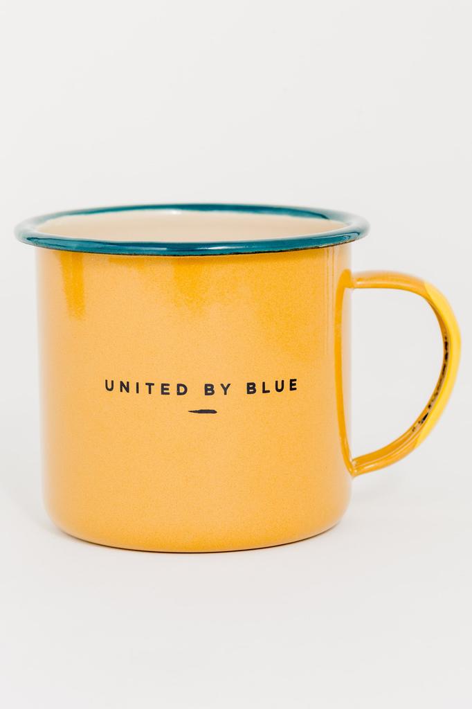UNITED BY BLUE UNITED BY BLUE PACK UP & GO 22oz ENAMEL MUG