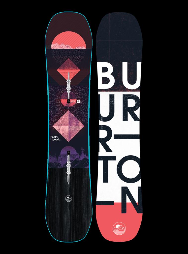 BURTON BURTON GIRLS FEELGOOD SMALLS SNOWBOARD