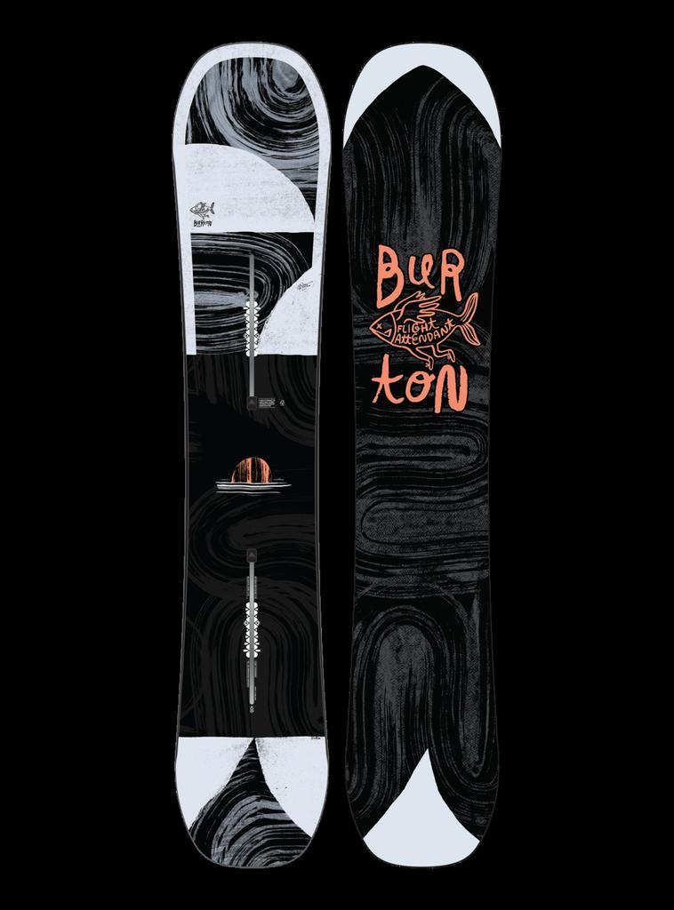 BURTON BURTON M'S FLIGHT ATTENDANT SNOWBOARD