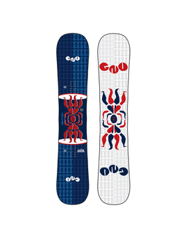 GNU GNU M'S HEAD SPACE SNOWBOARD