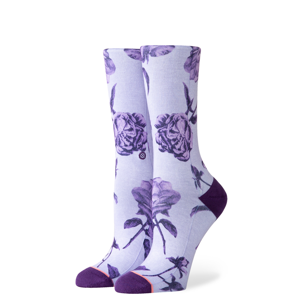 STANCE STANCE W'S REBEL ROSE CREW SOCK
