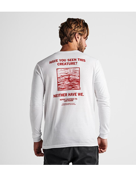 ROARK ROARK M'S LOST NESS LONG SLEEVE STAPLE TEE