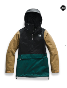 TNF TNF W'S TANAGER ANORAK JACKET