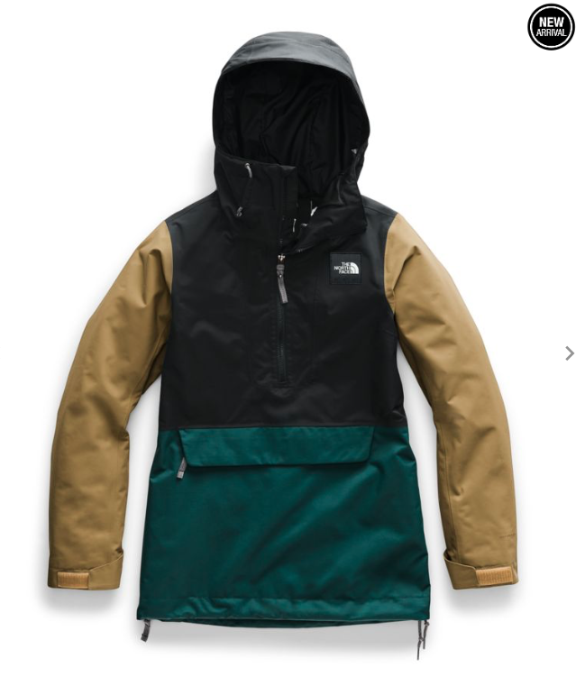 TNF THE NORTH FACE W'S TANAGER ANORAK JACKET