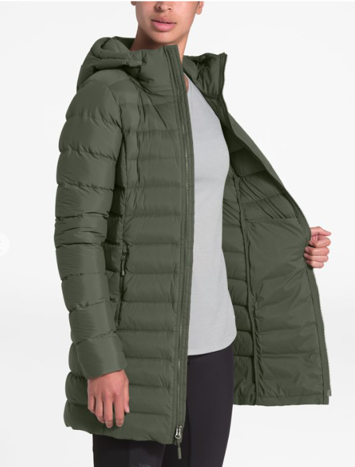 TNF THE NORTH FACE W'S STRETCH DOWN PARKA