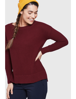 UNITED BY BLUE UNITED BY BLUE W'S HIMLEY WAFFLE SWEATER