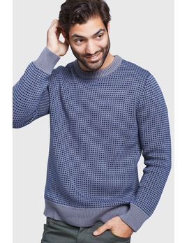 UNITED BY BLUE UNITED BY BLUE M'S BRUSHWOOD SWEATER