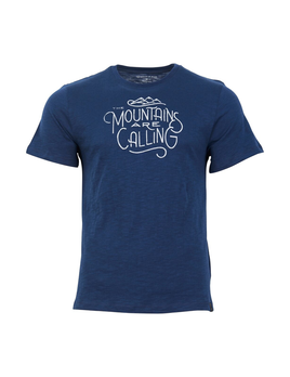 UNITED BY BLUE UNITED BY BLUE M'S MOUNTAINS ARE CALLING TEE