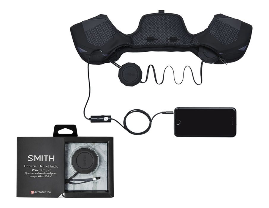 SMITH SMITH OUTDOOR TECH WIRED AUDIO CHIPS