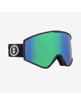 Electric Electric Kleveland Snow Goggle - Matte Black + BL Brose/Green Chrome