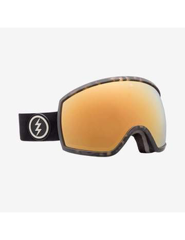 ELECTRIC ELECTRIC EGG GOGGLE - BURNT TORT + BROSE/GOLD CHROME