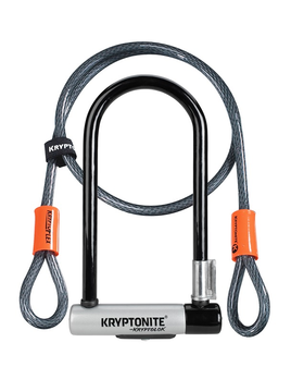 KRYPTONITE Kryptonite STD with 4' Flex Cable Lock