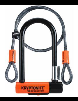 Kryptonite Kryptonite +Evolution Mini-7 with 4' Flex Cable Lock