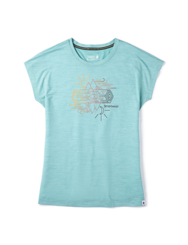 SMARTWOOL Smartwool W's Merino Sport 150 Mountain Reflection Tee