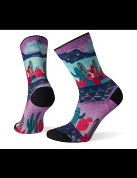 SMART WOOL Smartwool W's PHD Outdoor Light Print Crew Socks