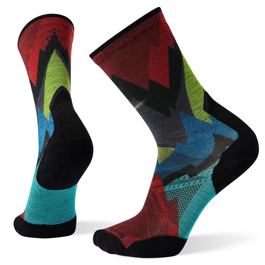 SMART WOOL Smartwool PhD Pro Endurance Print Crew Sock