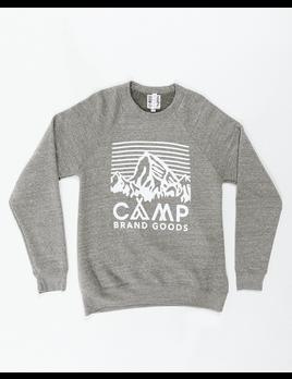 CampBrand Goods Camp Brand Heritage Logo Crewneck