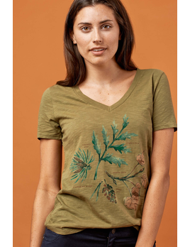 UNITED BY BLUE United By Blue W's Forest Flora Tee